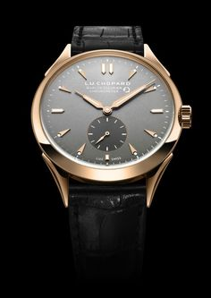 TimeZone : Industry News » N E W  M o d e l - Chopard Fleurier Quality Foundation Chronometer