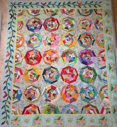 A blog about quilts, quilting, reading and travel.