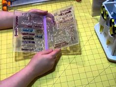 Stamp Storage.AVI - YouTube Wish I had used these cases by Stampin' Up to store my acrylic, photopolymer, and rubber cling stamps instead of using CD cases. May invest in these storage cases and reorganize my stamps!!!!
