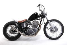 Yamaha SR400 Custom by Motor Rock Japan - Moto Rivista