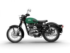Royal Enfield Classic 350 left Redditch Green
