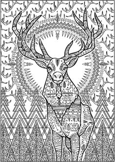 Pattern Animal Coloring Pages Download And Print For Free Children