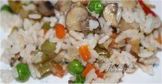MUSHROOM PULAO | JessysKitchen.com Grains, Stuffed Mushrooms, Rice, Vegetarian, Kitchen, Recipes, Food, Stuff Mushrooms, Cooking