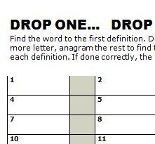 FREE -  Daily word and number games