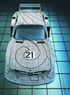 BMW Art Car by Frank Stella.  A perfect balance.