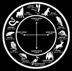 Native American Zodiac...? All Native Americans? Cultural misappropriation, in my opinion, but interesting. Maybe just interesting North American zodiac associations.