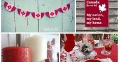 Today is Canada Day. I've scoured my Pinterest boards and come up with a round-up of Canada themed decor, crafts, and food.  Follow th... Jello Cake, Jello Desserts, White Jello, Posters Canada, Canada Day Party, Making Sweets, White Cake Pops, Country Birthday, Nanaimo Bars