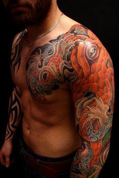 japanese tattoo/Tattoorium Freilassing/ Octopuss