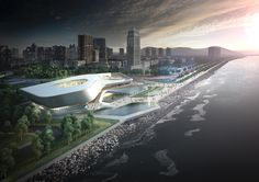 Zhuhai Culture Center Competition Design Concept2nd price in international architectural competitionArchitects: 10 DesignLocation: Zhuhai, ChinaYear: 2013 Design Team: Gordon Affleck , Lukasz Wawrzenczyk, Frisly Colop Morales, Adrian Yau, Rita Pang…