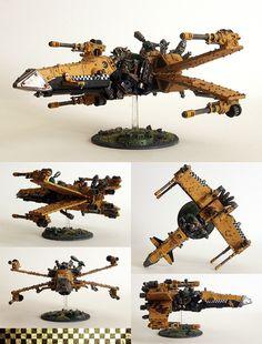 X-Wing, Ork Deffkopta conversion, Warhammer 40k.