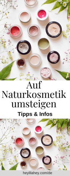 Auf Naturkosmetik Umsteigen – Tipps & Infos Switching to natural cosmetics, sustainable DIY, sustainable living, … Natural Hair Care Tips, Natural Make Up, Natural Skin Care, Natural Hair Styles, Natural Beauty, Sustainable Gifts, Sustainable Living, Hair Care Recipes, Diy Hair Care