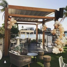 Check out this amazing Balloon setup by @loveballoonsbyus !! Such a cute venue made even more delightful by beautiful metallic balloons🎈. Can't wait to see what Love Balloons is going to do at the Baby Shower we have in April!! 👌💕 utilising local vendors is such a privilege! . Ps. This venue though... amazing!! 📸: @loveballoonsbyus . #goldcoastballoons #goldcoastparty #goldcoastpartyplanner #diyparty #diypartydecor #diy #diypartybrisbane #brisbanepartyplanner #diypartybrisbane… Metallic Balloons, Love Balloon, Diy Party Decorations, What Is Love, Ps, Pergola, Baby Shower, Make It Yourself, Canning