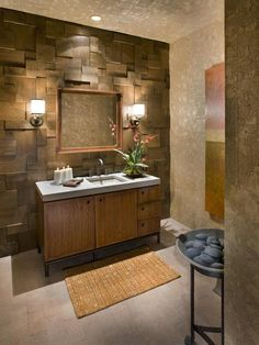 20 Ideas for Bathroom Wall Color : Home Improvement : DIY Network