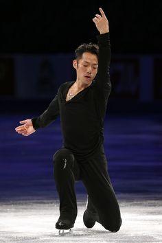 Daisuke Takahashi at the Skate America Gala, 2013.