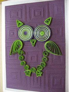 Paper Quilling Patterns Designs | Quilled Bird Designs - Paperblog