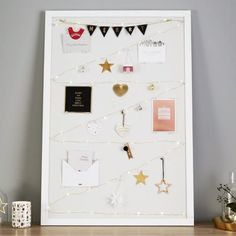 Your Vision Board is the perfect place to display your favourite Christmas cards, decorations and inspirations. Be inspired to get creative with your styling at home or at your workspace with the ideas at kikki-k.com/blog. Click the link in our bio to shop! #kikkiKGratefulHeart