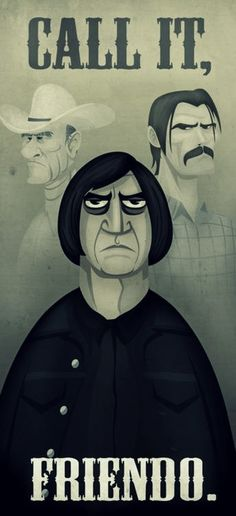 No Country For Old Men = One of the best movies i've seen in years. Anton Chigurh = One of the best villains EVER Call It Friendo