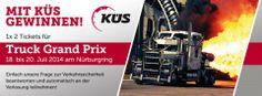 KÜS verlost 1x 2 Tickets für den Truck Grand Prix am Nürburgring