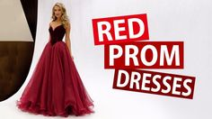 Pretty Red Prom Dresses 2018 - Buy New Formal Evening Party Dress For Pr...
