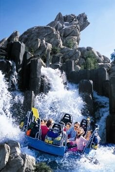 Grizzly River Rapids at California Adventure