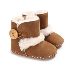 Raise Young Winter Plus Velvet Warm Baby Boots Soft Soles Non-slip Toddler Girl Snow Booties Newborn Infant Boy Shoes From Touchy Style Outfit Accessories ( Black / 3 ) Boys Snow Boots, Baby Boots, Winter Snow Boots, Baby Girl Shoes, Girls Shoes, Baby Girls, Boy Shoes, Keds Shoes, Baby In Snow
