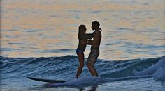 Always time for a little romance... Love & the Perfect Wave