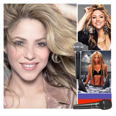 """SHAKIRA! SHAKIRA!"" by batgirl-at-the-disco3 ❤ liked on Polyvore featuring art"