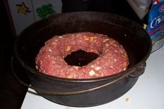 Dutch Oven Madness!: Day 346: Sweet Glazed Dutch Oven Meatloaf
