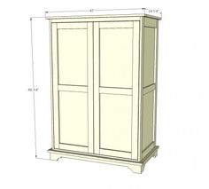 Beau Bold Building An Armoire Closet Makes Residence Perfect