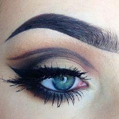 "Georgia Bartley on Instagram: ""Today\'s makeup That liner was EFFORT :|||||"""
