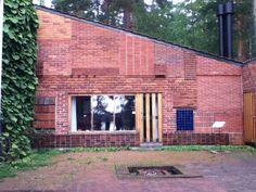 brick wall like patchwork | Aalto's summer house, Muuratsalo, 1953 – brick experiments