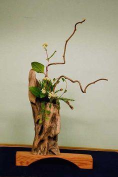 流木の花器 2005-5