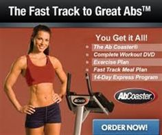 Ab Coaster works your abs from the 'bottom up', while limiting stress to your neck, back and shoulders.