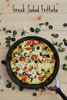 Greek Salad Omelette 4