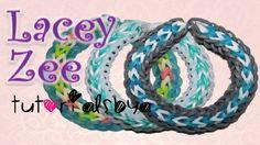 Rainbow Loom Bracelets Easy, Loom Band Bracelets, Rainbow Loom Tutorials, Rainbow Loom Patterns, Rainbow Loom Creations, Loom Bracelet Patterns, Loom Love, Fun Loom, Monster Tail Bracelets