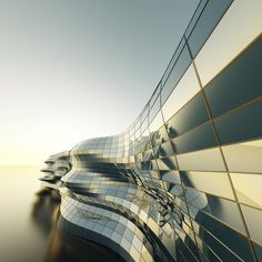 Modern Building Concept