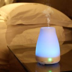 Low Price + FREE SHIPPING - 100ml - GREENJUNGLE Essential Oil Mist Diffuser with 7 Color Changing LED Lights  | eBay