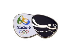 O Pin com o pictograma do vôlei de praia para os jogos do Rio 2016!