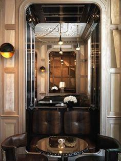 art deco interior design   Connaught Bar Review By B3 Designersv