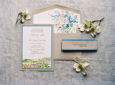 Stationery: Momental Designs - http://www.stylemepretty.com/portfolio/momental-designs Florals: Southern Blooms by Pat's Floral Designs - http://www.stylemepretty.com/portfolio/southern-blooms Photography: Adam Barnes Fine Art Photography - http://www.stylemepretty.com/portfolio/adam-barnes-fine-art-photography-2   Read More on SMP: http://www.stylemepretty.com/2015/01/29/french-blue-peach-southern-farm-wedding/  #momentaldesigns #kristyrice  #handpaintedinvite  #watercolorwedding…