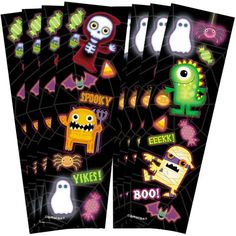 Boo Crew Sticker Strips