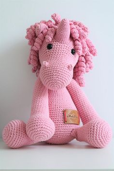 Peluche amigurumi licorne crochet pinterest soft and gentle unicorn toy for your child a great addition to any kids bedroom fandeluxe Images