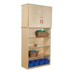 Wood Designs Vertical Storage Cabinet w/ Shelving https://www.schooloutfitters.com/catalog/product_info/pfam_id/PFAM34103/products_id/PRO45460
