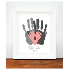 Baby Footprint  Handprint ideas, lots of wonderful ideas ...