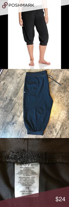 Soybu Capri Lounge Pants Excellent condition- never worn or washed. UPF 50 and quick drying. Breathable fabric and lightweight. Drawstring at waist. Soybu Pants Track Pants & Joggers