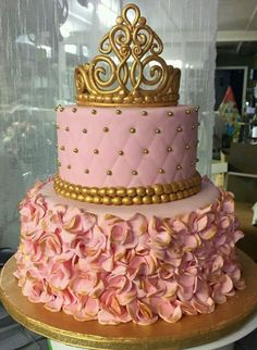 Princess cake. Too cute!!!