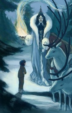 Snow queen White Witch Narnia, Jadis The White Witch, Fantasy World, Fantasy Art, Cair Paravel, Fanart, Chronicles Of Narnia, Witch Art, Fairytale Art