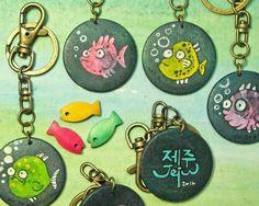 Fish Keyring by  Agne Latinyte (aka yuujin, yuujinaga) on Etsy
