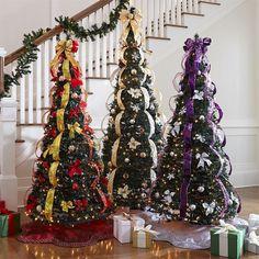 Fake Pre Decorated Christmas Tree Ideas Trees Full