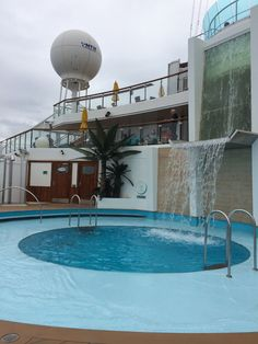 Serenity pool for adults only on Carnival Sunshine